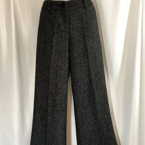Black/Multi Color Tweed Pants by The Limited